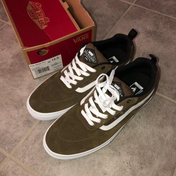 NEW Mens Vans Kyle Walker Pro Brown Shoes Size 12